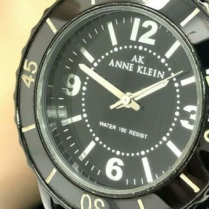 Anne Klein New York Women's Black Ceramic Watch